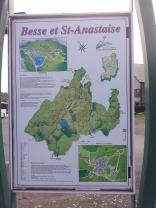 Plan de la ville avec ces circuits de randonnée