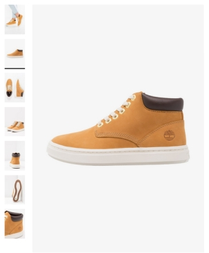 baskets montantes timberland